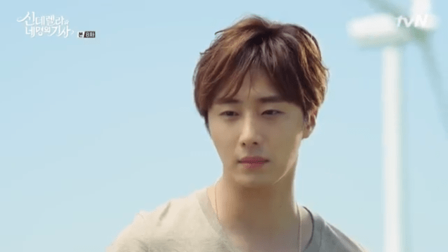 Jung Il-woo in Cinderella and the Four Knights. Episode 8. Cr. tvN Screen Captures by Fan 13. .PNG37