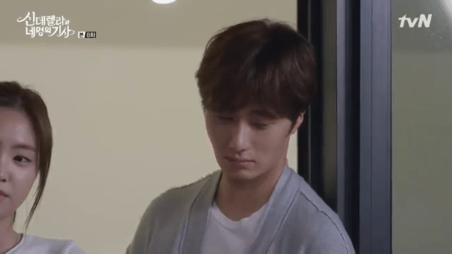 Jung Il-woo in Cinderella and the Four Knights. Episode 8. Cr. tvN Screen Captures by Fan 13. PNG85