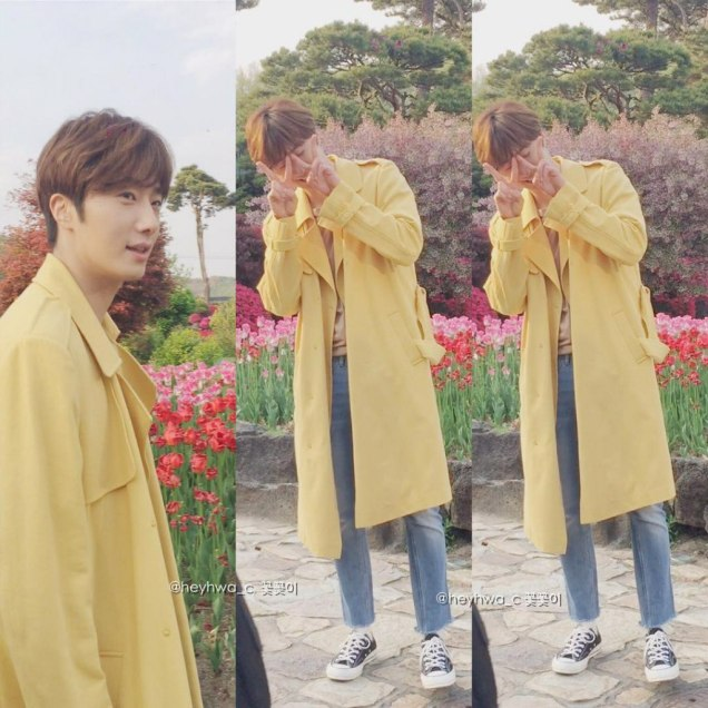 Jung Il-woo in Cinderella and the Four Knights. Episode 8. Cr. tvN Yellow Overcoat. Fan Take. Cr. on them. PNG12