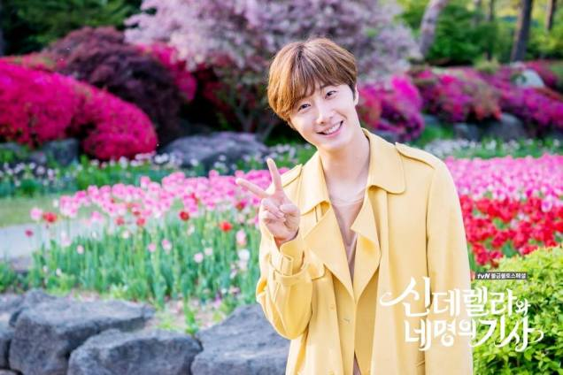 Jung Il-woo in Cinderella and the Four Knights. Episode 8. Cr. tvN Yellow Overcoat. Fan Take. Cr. on them. PNG9