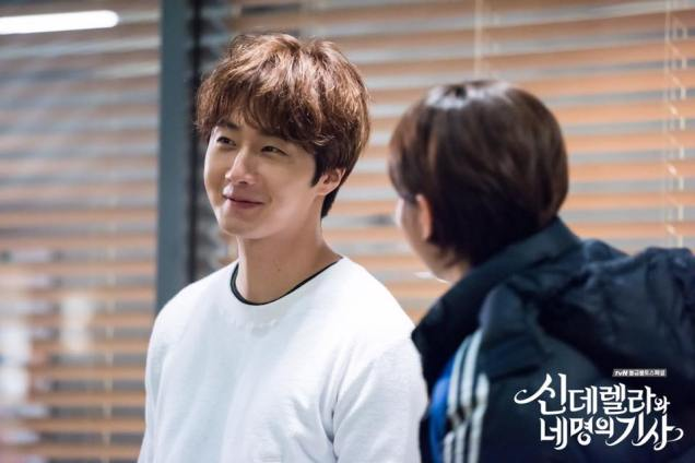 Jung Il-woo in Cinderella and the Four Knights. Episode 9. Cr. tvN Website Photos 10