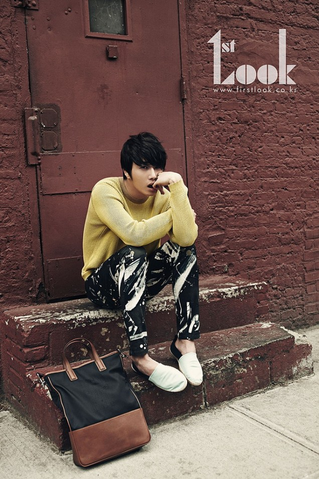 2012 4 19 Jung Il-woo for First Look Magazine23