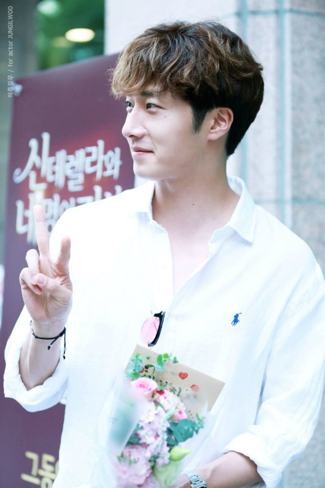 2016 6 1 Jung Il-woo at the Wrap Up Party for Cinderella and the Four Knights. 16