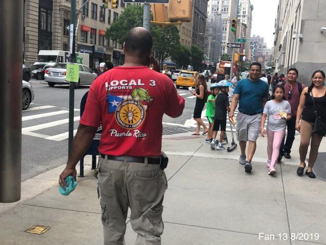 2019 8 Frog Encounters in NYC. Fan 13. 3