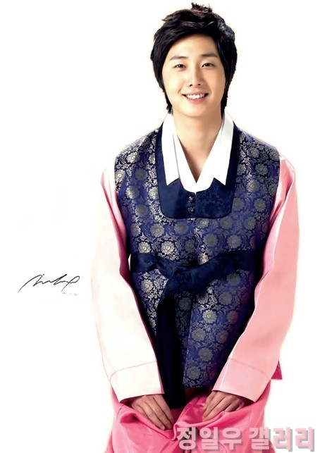 2007 Jung Il Woo dressed for Chuseok