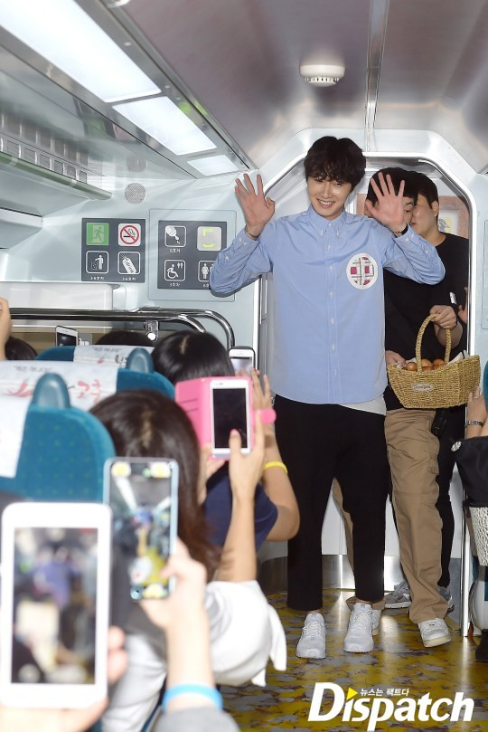 2016 9 4 (8) Jung Il-woo's 10th Anniversary Fan Meeting Railtrip.  Cr. Starcast Naver. 6.jpg