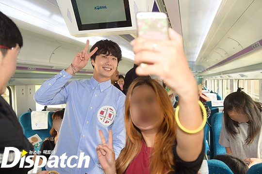 2016 9 4 (8) Jung Il-woo's 10th Anniversary Fan Meeting Railtrip.  Cr. Starcast Naver. 8.jpg