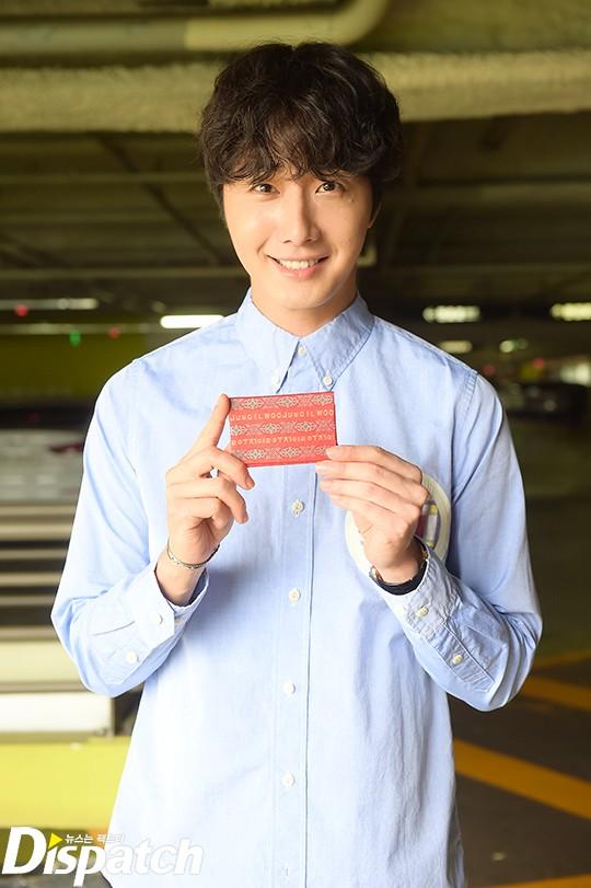 2016 9 4 Jung Il-woo Fan Meeting: Rail Trip with Jung Il-woo. Cr. Starcast, Disparch and Jung Il-woo.com 14