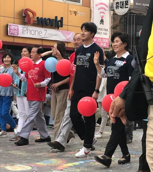 2017 9 16-24 Jung Il woo at the Seoripul Festival in Seocho. 2