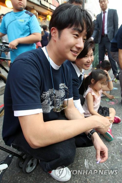 2017 9 16-24 Jung Il woo at the Seoripul Festival in Seocho. 8
