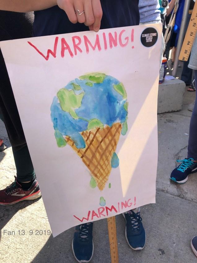 2019 9 20 Climate Change Strike. Boston, Mass. USA taken by Fan 13. 11