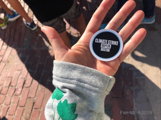 2019 9 20 Climate Change Strike. Boston, Mass. USA taken by Fan 13. 19