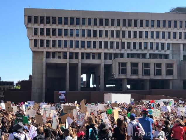2019 9 20 Climate Change Strike. Boston, Mass. USA taken by Fan 13. 5