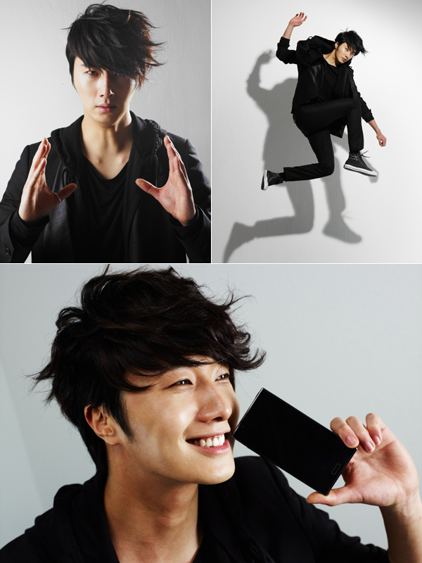 2012 5 Jung II-woo in LG Smart Phone AD photos 00001