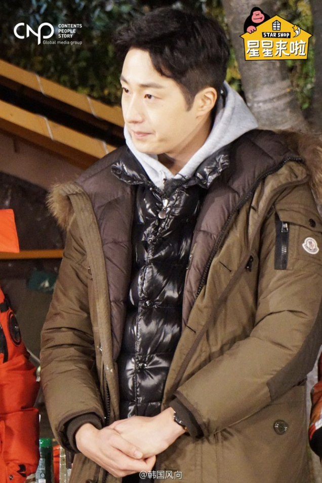 2016 11 Jung Il-woo in Star Shop. Cooking Outside. 11