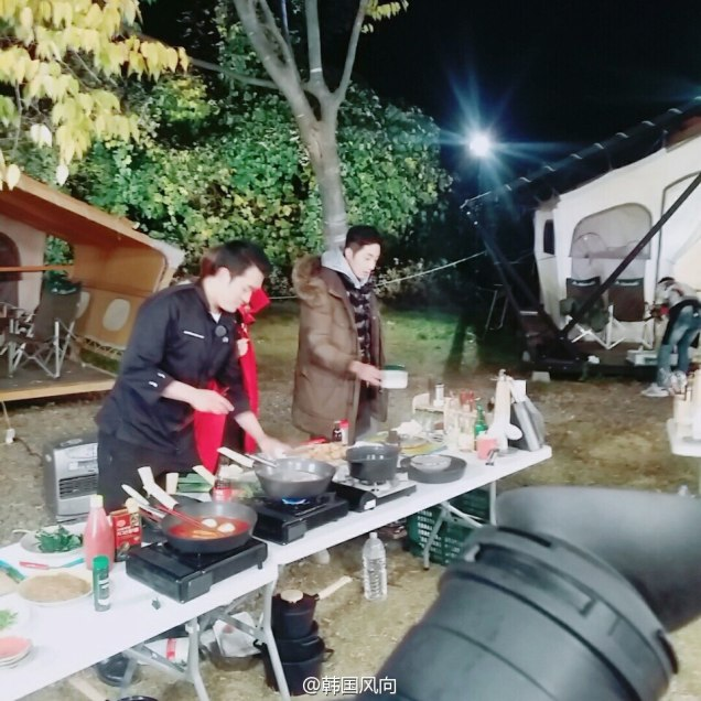 2016 11 Jung Il-woo in Star Shop. Cooking Outside. 17