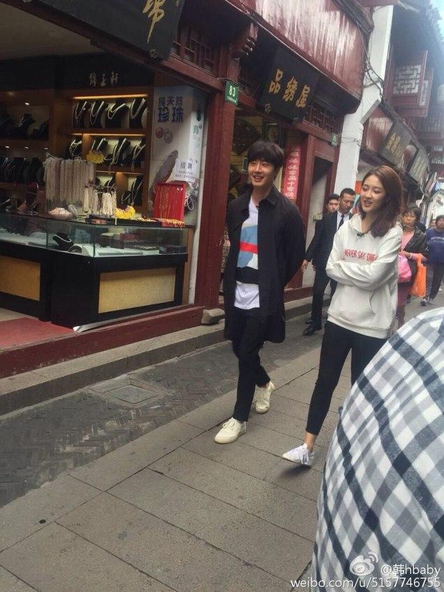 2016 Jung Il woo in Star Shop photos. Dark Gray short overcoat. 8