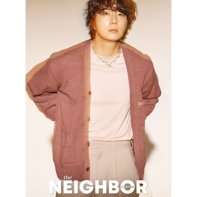 2019 10 Jung Il woo in The Neighbor Magazine. 1