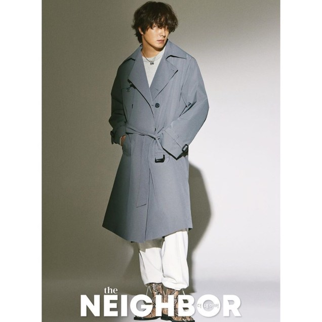 2019 10 Jung Il woo in The Neighbor Magazine. 3