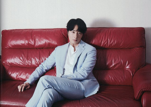 2019 7 Jung Il woo in the Japanese Magazine Channel Book. 24