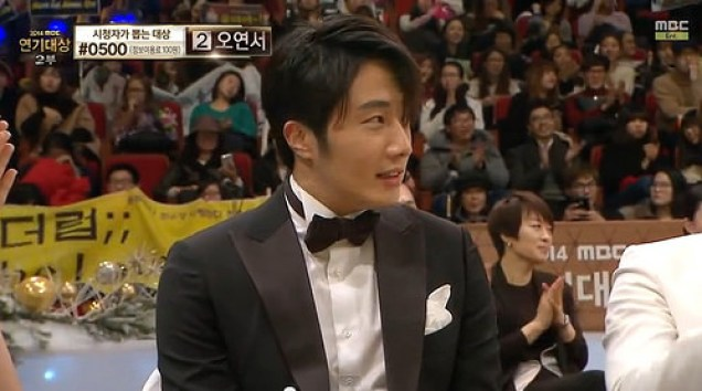 2014 12 30 Jung Il-woo at the 2014 MBC Awards 21.jpg