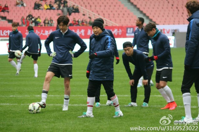 2016 1 10 Jung Il-woo playing soccer in the 2016 Asian Smile Cup. 37