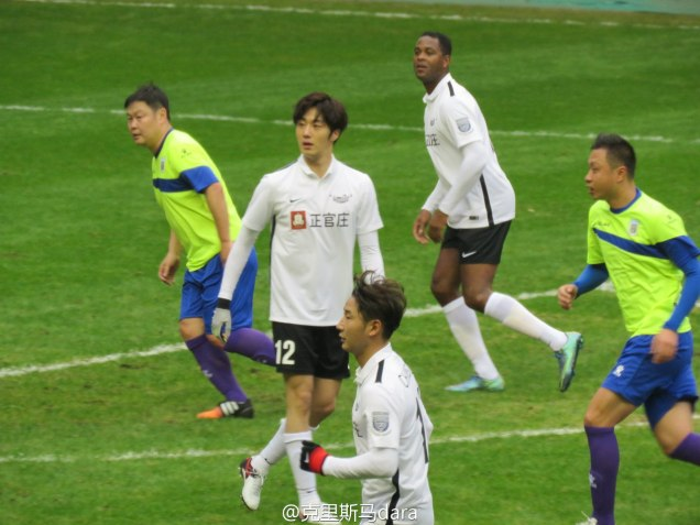2016 1 10 Jung Il-woo playing soccer in the 2016 Asian Smile Cup. 44