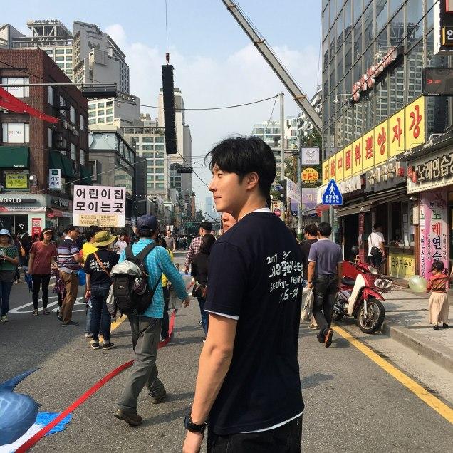 2017 9 16-24 Jung Il woo at the Seoripul Festival in Seocho. 16