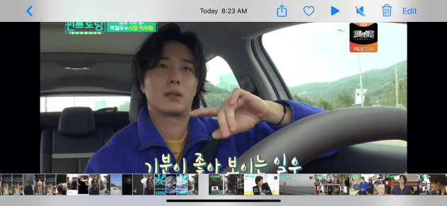 2019 11 29 Jung Il woo in Convenience Store Restaurant. Episode 6. 2