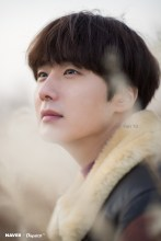 2019 12 4 Jung Il woo in a Photo Promotion for COnvenience Store Restaurant. Cr. Dispatch, Naver. 12
