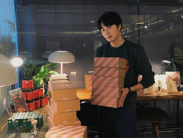 2019 Jung Il woo Share Your Love Bazaar. Cr. IG kwonyoonsung.1.JPG