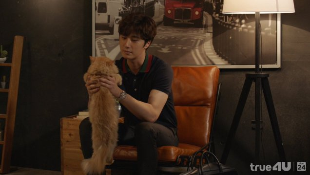 2017 Jung Il woo in Love and Lies with cat. Cr. True4U 12.jpg
