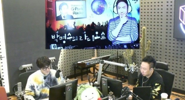 2020 1 20 Jung Il woo in Park Myung-soo's Radio Show in KBS Radio. Cr. IG jiwww, IG gpark_radio and EDaily. 7