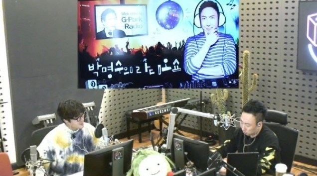 2020 1 20 Jung Il woo in Park Myung-soo's Radio Show in KBS Radio. Cr. IG jiwww, IG gpark_radio and EDaily. 9