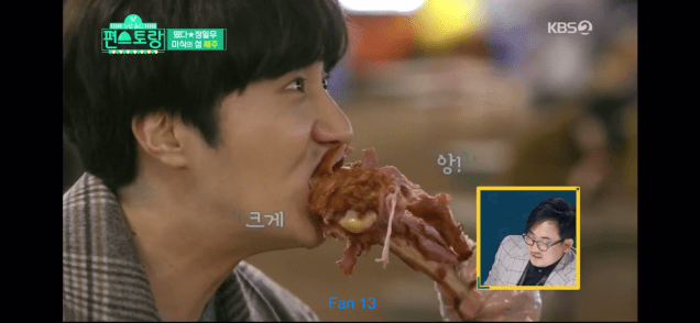 2020 1 31 Jung Il woo In Convenience Store Restaurant Episode 14. Jeju Island. Cr. KBS2 74