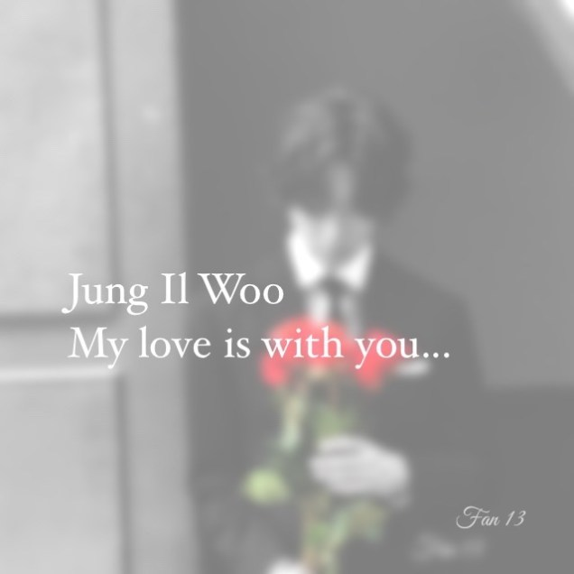 Jung Il woo and red roses. Happy Valentine's 2020! 19