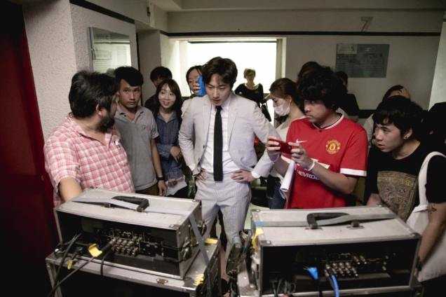 Jung Il woo in Behind the Scenes of Love and Lies. Filming Moments. 8