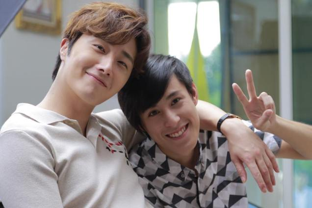 Jung Il woo in Behind the Scenes of Love and Lies. With Family. 1