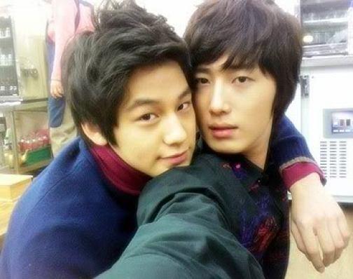 Jung Il woo and Kim Bum. 2007.jpg