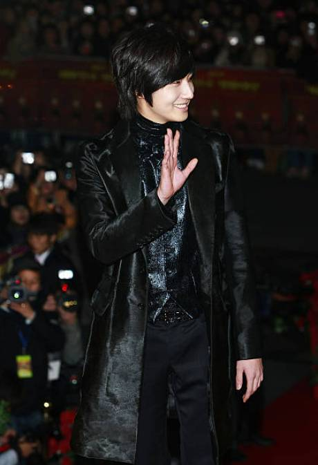 Jung Il woo at the Mnet Awards.  Arrival.jpg