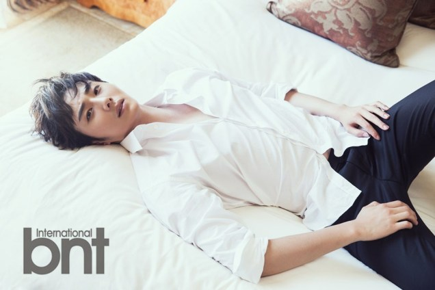 2014 Jung Il woo in. a BNT Photo Shoot. 3
