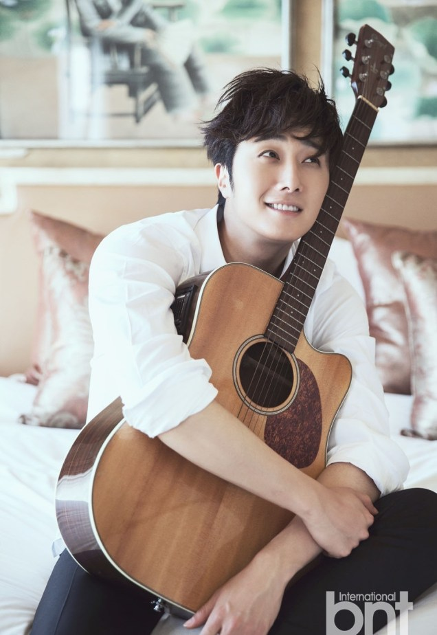 2014 Jung Il woo in. a BNT Photo Shoot. 4