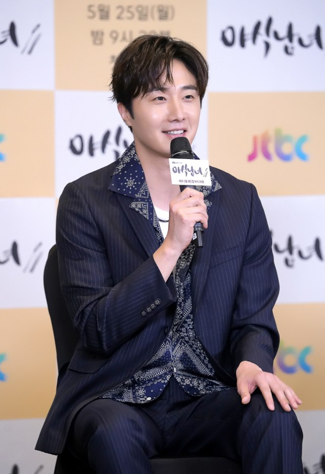 2020 5 25 Jung Il woo at the Production Presentation of Sweet Munchies. 15