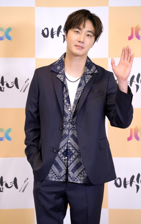 2020 5 25 Jung Il woo at the Production Presentation of Sweet Munchies. 7