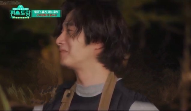 Jung Il woo in Episode 6 of Convenience Store Restaurant. Camping part. 1