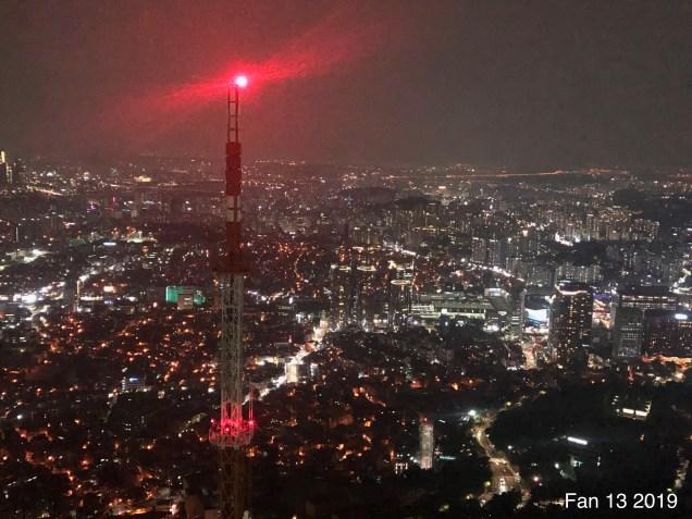 2019 Trip to Namsan Tower, Seoul. By Fan 13. 21