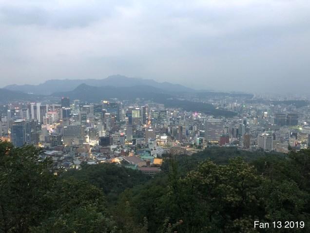 2019 Trip to Namsan Tower, Seoul. By Fan 13. 9
