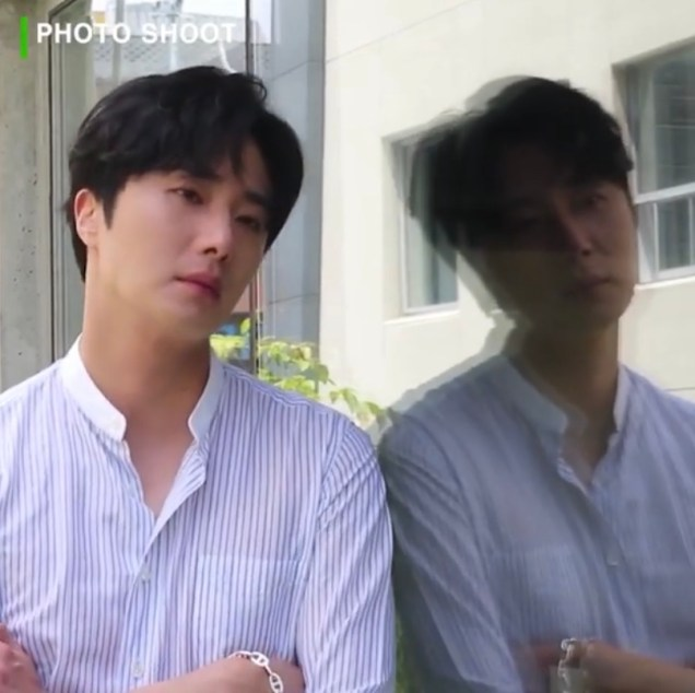 2020 6 15 Jung Il woo In Behind the Scenes pf a Photo Shoot. 6
