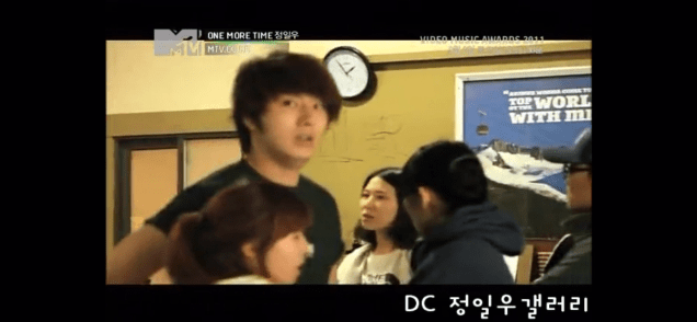 2011 Jung Il woo in One More Time. Episode 3. Screen Capture by Fan 13. 16