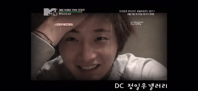 2011 Jung Il woo in One More Time. Episode 3. Screen Capture by Fan 13. 32